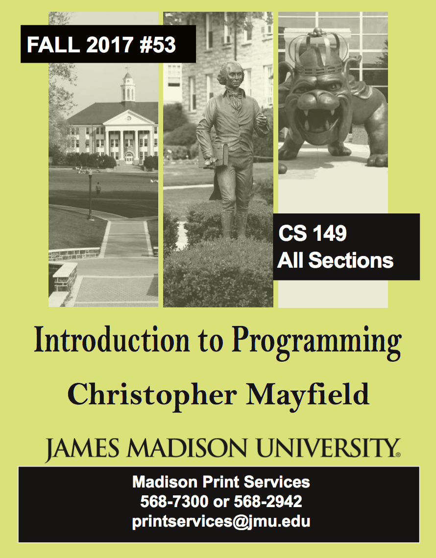 CS149 Think Java book cover
